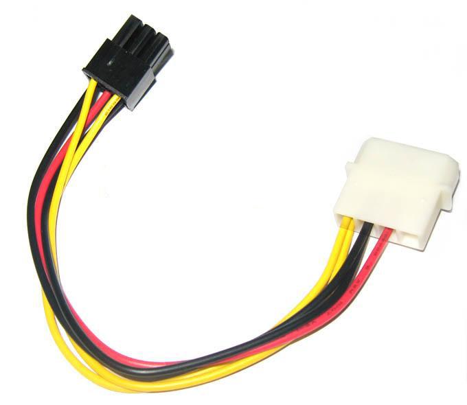 【线】4p/6p 电源转接线_硬盘数据线_连接转换类_6