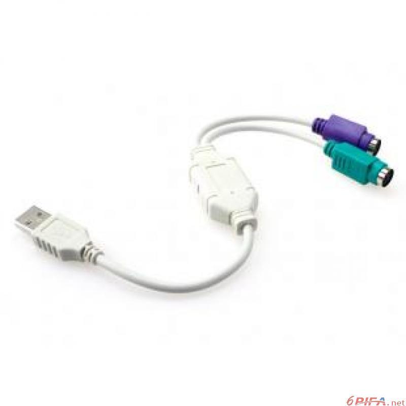 usb转ps2接鼠标键盘转接头转接线