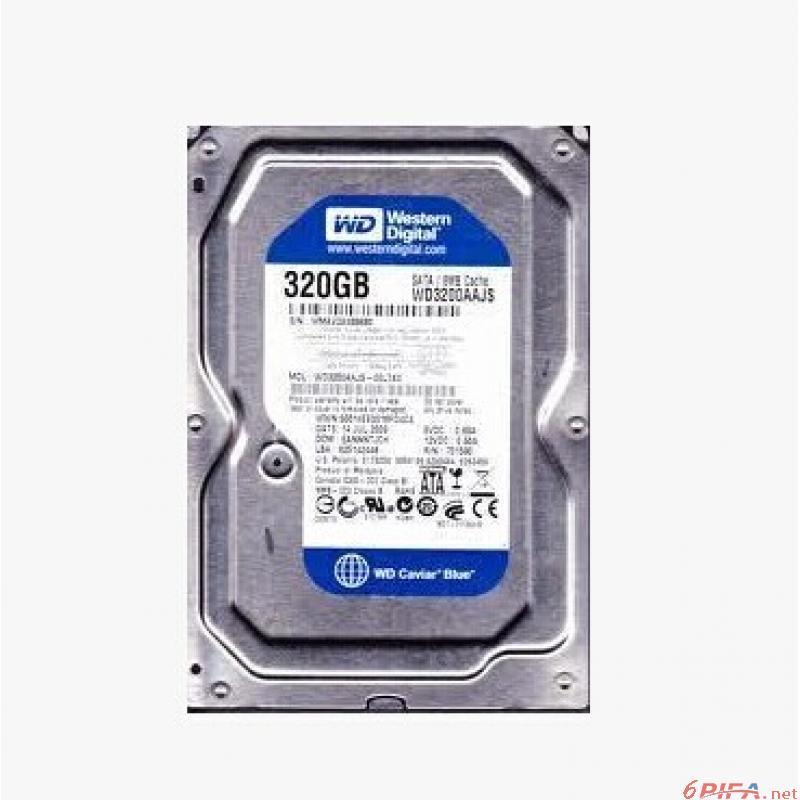 全新wd/西部数据 320g 台式机硬盘蓝盘单碟_电脑硬盘图片