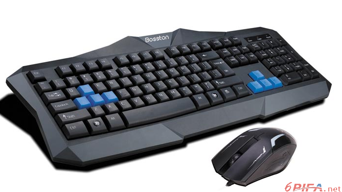 博士顿d5200电脑键盘电路原理图